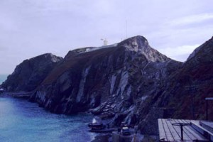 The Landing Beach, Lundy, 1988